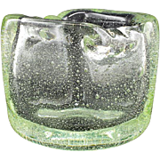 SCHNEIDER Vintage vase by Cristalleries SCHNEIDER 1949-1950