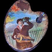 Huntley & Palmers Artist Biscuit Tin 1900