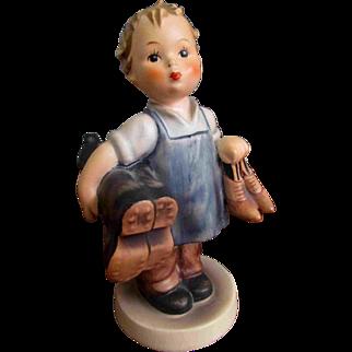 142/0 Goebel Hummel Shoe Boot Boy Figurine