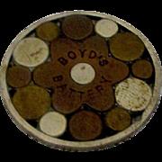 "1.25"" Antique Boyd's Battery Magneto Galvanic Cure-all Quack Medicine 1879"