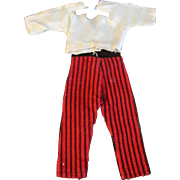 """1950s Vogue Jill Uneeda Tiny Teen Other 10"""" Fashion Doll Pant Blouse Outfit"""