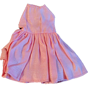 "1950s Vogue Jill Uneeda Tiny Teen Other 10"" Fashion Doll Pink Outfit Dress Panties"