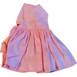"""1950s Vogue Jill Uneeda Tiny Teen Other 10"""" Fashion Doll Pink Outfit Dress Panties"""