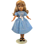 "1957 Uneeda Tiny Teen 10.5"" Fashion Glamour Doll"