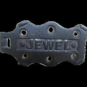 VIntage JEWEL Sadiron Sad Iron Trivet for Stove top