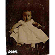 Tintype Ferrotype Daguerreotype Case With Image of Baby