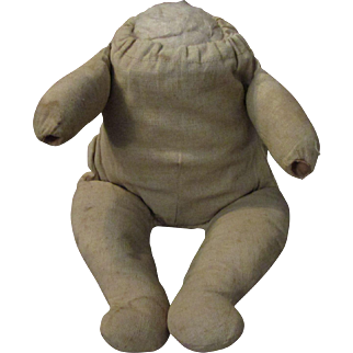 Antique Cloth Frog Body for Bye lo Bye-lo Baby