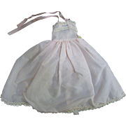 Vogue Tagged Jill Doll Lovely Pale Pink Satin Off the Shoulder