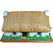 Ewan Kelly Isle of Mann Thatch Roof Cottage Music Box Musical