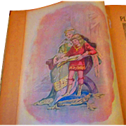 Wonderful Antique Childrens Book Pleasing Pictures Litho Cover