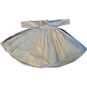 Cream Satin Netting Factory Made Bridal Dress for Vogue Ginny or Jill.