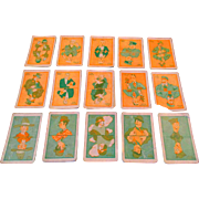 Vintage Old Maid Card Game Mid 20th