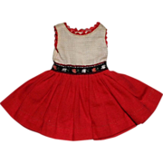 Ideal Pepper Doll Classroom Caper (dress only) #9404-5 Tammy