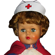 LG 1950s Miss Curity Nurse Doll Magic Skin Vinyl