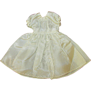 Cream Satin Dress for Vogue Jill Jan or other Doll