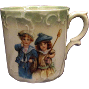 Child's China Cup Children Sailor Boy Girl