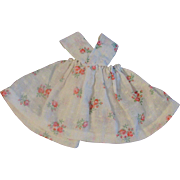"""Sweet White Floral Sun Dress for Ginny or other 8"""" Doll"""