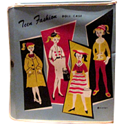 Teen Fashion Doll Case for 1950s 1960s Doll Tammy Barbie other