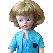 """Sweet and Adorable 12"""" Side glancing Unmarked Tammy Clone Fashion Doll"""