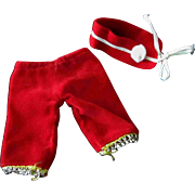 """Factory Made Red Hat Pants for Ginny Ginger or other 8"""" 1950s doll"""