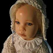 Gorgeous Elissa Glassgold Doll Artist Wax Resin Baby Grace