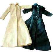 Tammy Other 12 inch Fashion Doll Clone Mommy Made Clothes 2 Maxi Coats