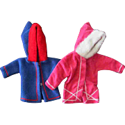 Tammy Other 12 inch Fashion Doll Clone Mommy Made Clothes Two Hoodies Jacket
