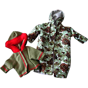 Tammy Other 12 inch Fashion Doll Clone Mommy Made Clothes Camouflage Jacket Hoodie