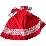 Tammy Other 12 inch Fashion Doll Clone Mommy Made Clothes Red Dress