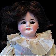 "12"" Armand Marseille A.M. Doll Dark Eyed Dark Haired Beauty AS IS"
