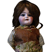 "13"" Armand Marseille A.M. Doll Dark Blond Blue Eyed Beauty AS IS"