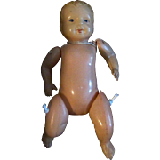"Sweet 4.5"" Jointed Celluloid Boy Doll Made in Japan"