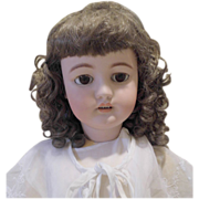 LAST CHANCE Large Lovely Antique Simon & Halbig S&H 15 Germany Bisque doll