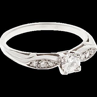 .26 Carat Diamond Platinum Engagement Ring