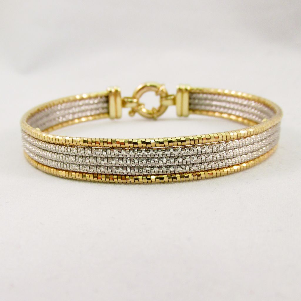 gold bangles type cf white bracelet diamond in jewellery products karat vendor miscellaneous bracelets oliver bangle