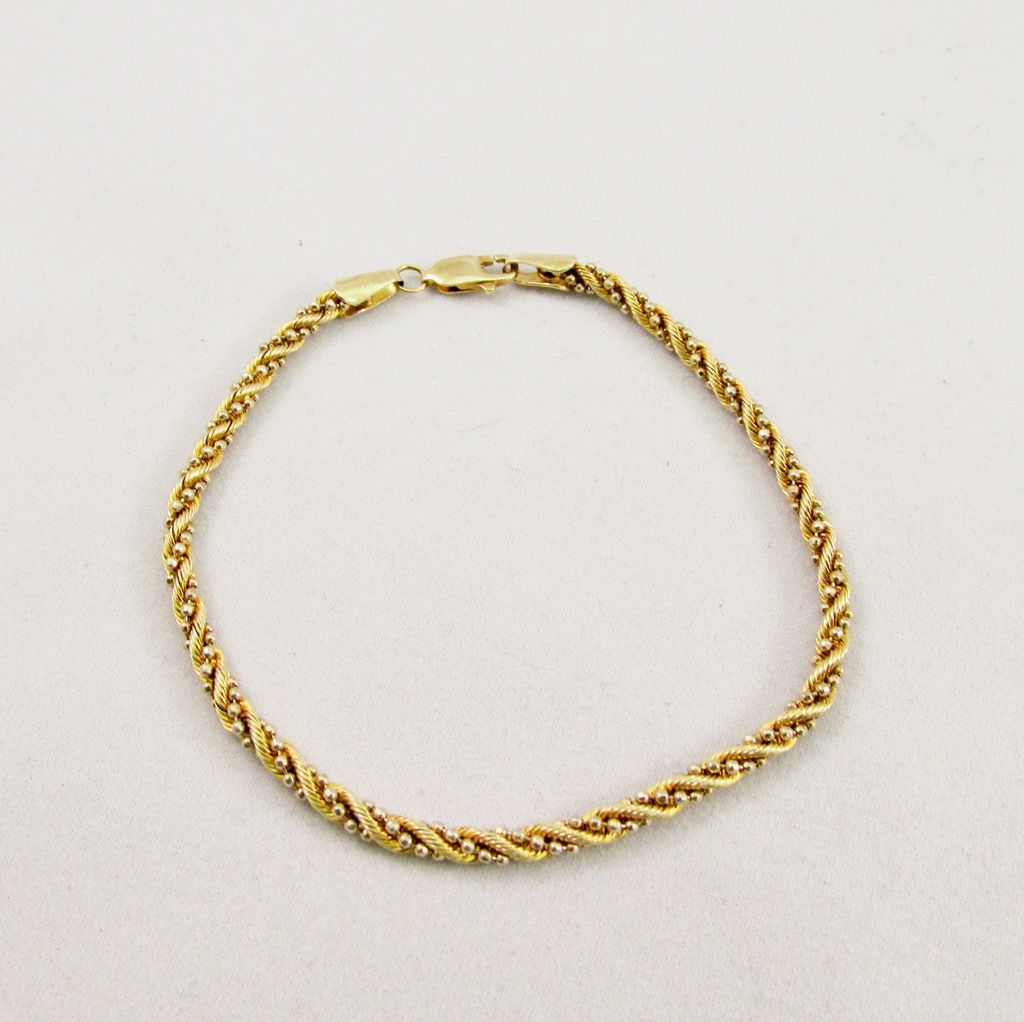 Estate Fancy Rope Bracelet