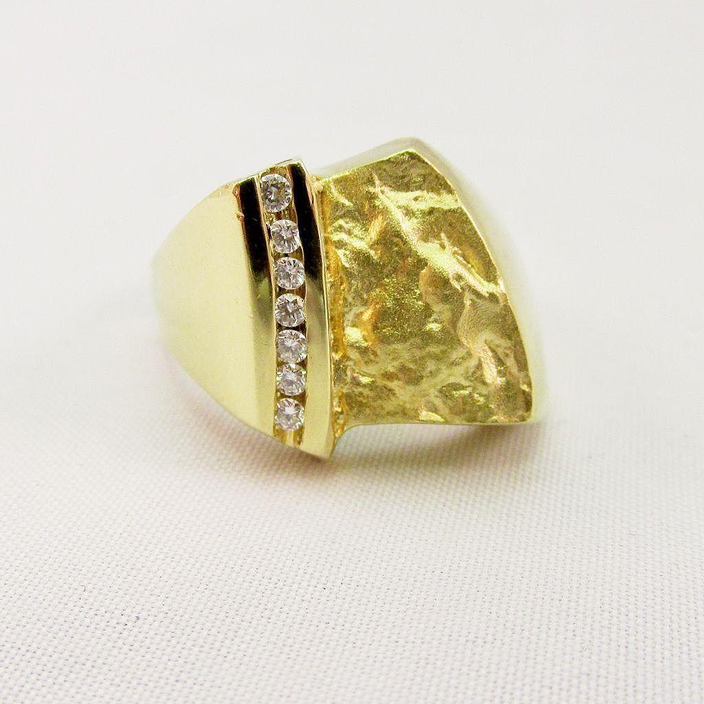 Susan Helmich Diamond Ring