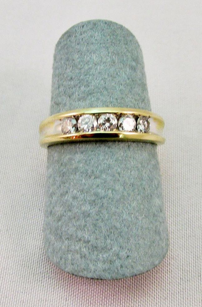 Estate Diamond Anniversary Ring