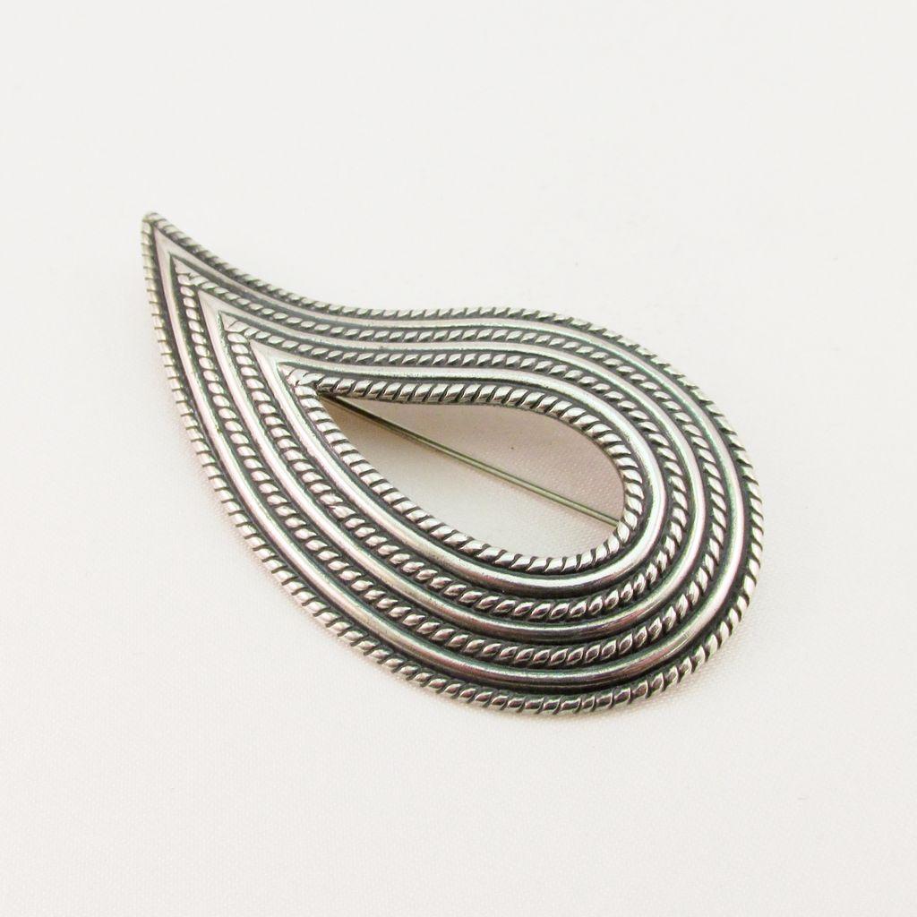 Vintage Danecraft Sterling Silver Pin