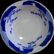 Japanese Antique Fine Fukagawa (深川)  Blue and White Porcelain Bowl