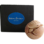 "Vintage Armadillo by Adam Binder from the ""Netsuke"" Collection"