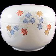 Japanese Vintage Unusual Fukagawa 深川 Porcelain Box