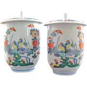 Pair of Japanese Arita- Kakiemon 柿右衛門 Porcelain Tea Cups under 14th Kakiemon Intangible Cultural Asset