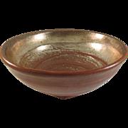 Japanese Raku Pottery 楽焼 Large Chawan or Tea Bowl Master Potter Shoraku Sasaki III