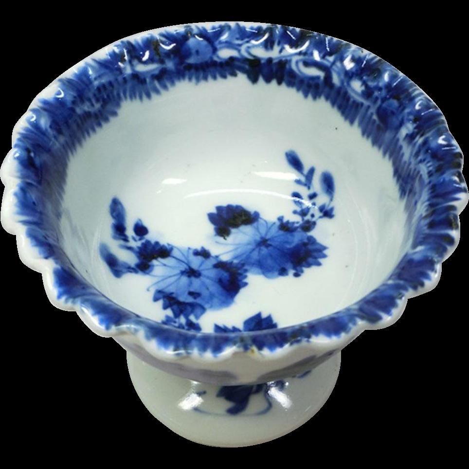 Japanese Antique Edo Imari Yaki 伊万里焼 Porcelain Scalloped