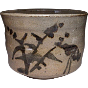 Japanese Vintage Karatsu-yaki 唐津焼き Chawan or Tea bowl