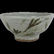 Japanese Vintage Mashiko-yaki Pottery 益子 Sake Cup by Famous Potter Hokudo Mimura