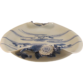 Japanese Meiji Antique Hirado 平戸 Porcelain Sweet Meat Dish