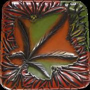 Japanese Sanuki-bori Usushi-nuri Shikki 漆器 Kashiki plate