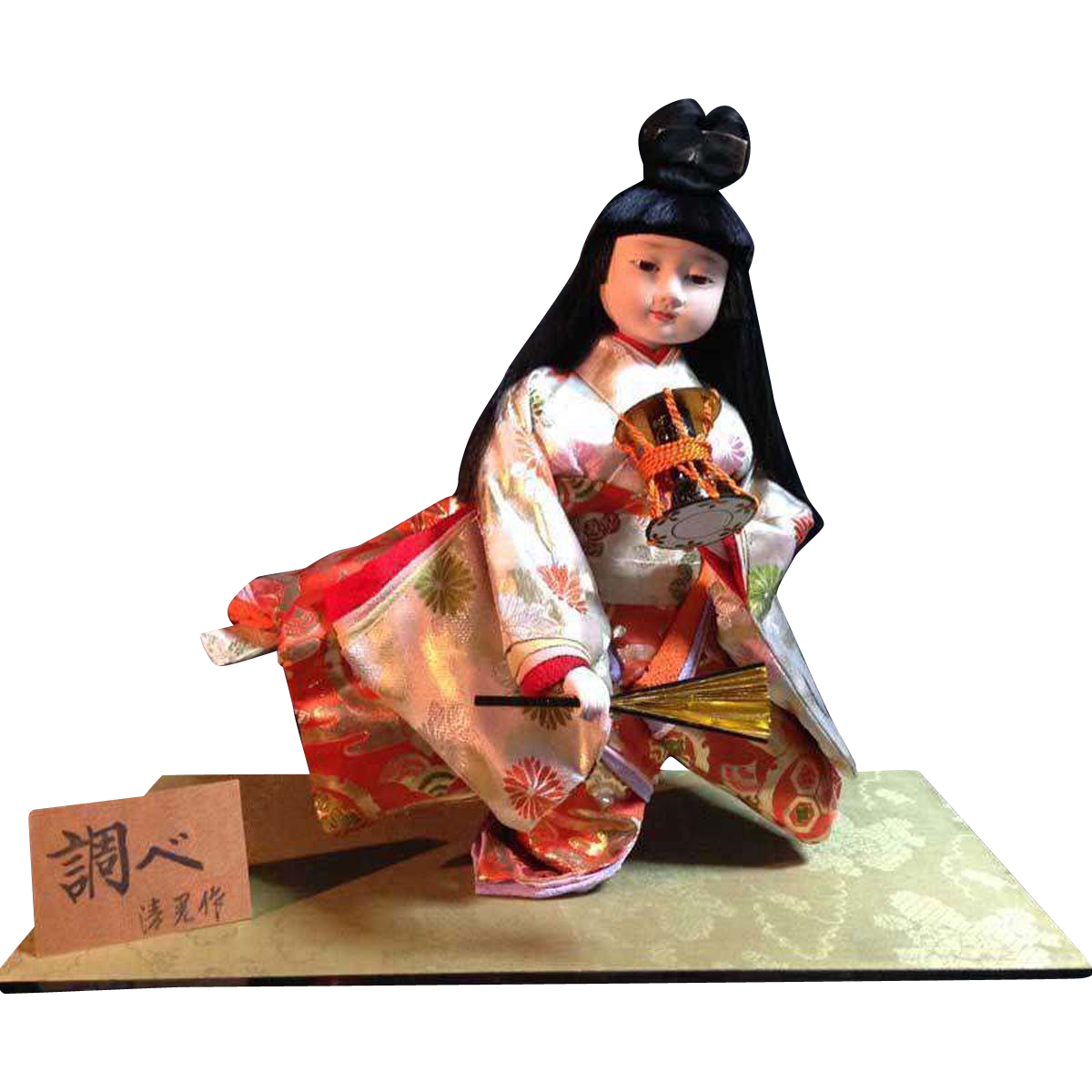 Japanese Vintage Ichimatsu Doll 一松人形 of Gofun Famous Designer Seikoh 清晃